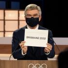 IOC formaðurin, Thomas Bach, við óvæntaðu avdúkingini um OL-vertsskapin í 2032