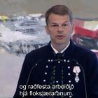 - Trivnaður, tryggleiki og vøkstur eru okkara stavnhald