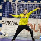 Pauli Jacobsen gjørdist dagsins leikari hjá Føroyum (Mynd: EHF)