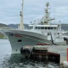 Norsk uppsjóvarskip landa á Tvøroyri