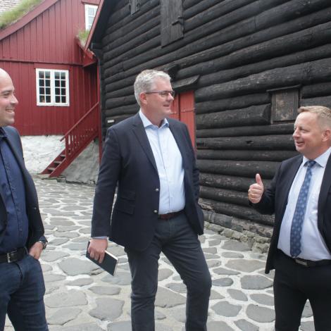 Mærsk-stjóri: Fegnast um at føroyingar manna teirra skip