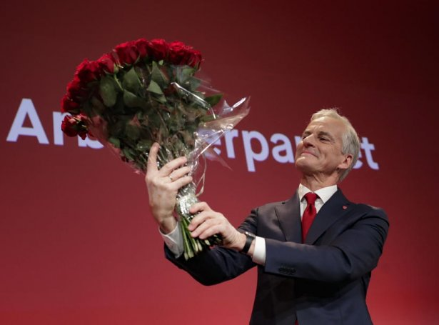 Jonas Gahr Støre (Mynd: EPA)