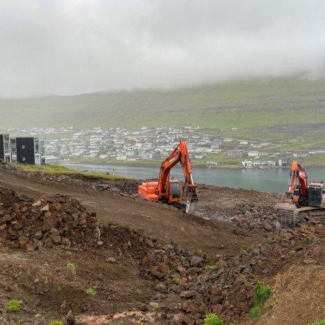 Arbeitt verður við bústaði til 44 arbeiðsfólk