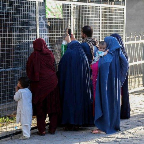 Afghanistan: Dreingir farnir í skúla aftur