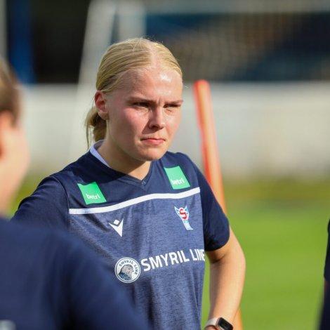 Tórunn Højgaard Joensen (Mynd: Bjarni Enghamar / FSF)
