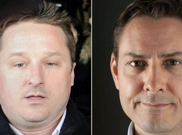 Michael Spavor og Michael Kovrig (Mynd: Ritzau)
