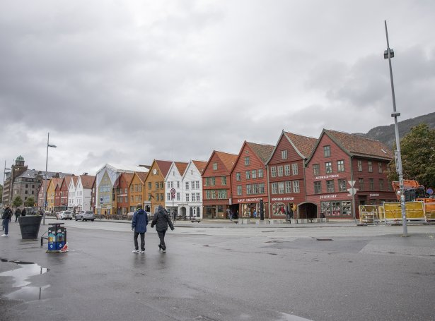 Bryggen (Mynd: Sverri Egholm)