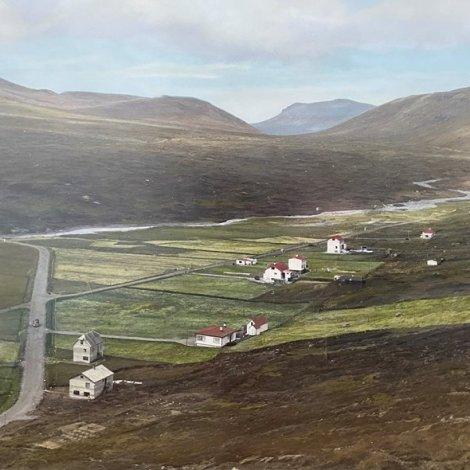 100 ár síðan fólk settust niður í Vatnsoyrum