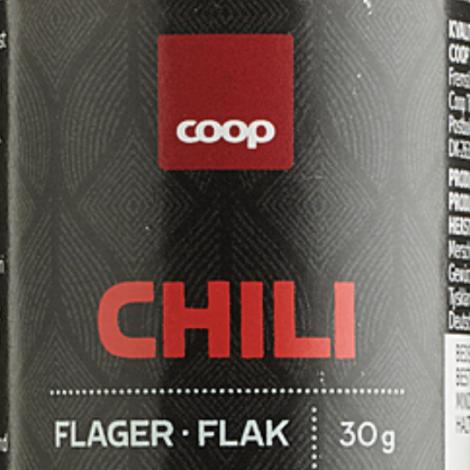 Afturkalling av chiliflykrum frá Coop